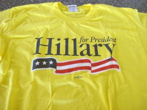 My Hillary Caucus T-Shirt from 2008